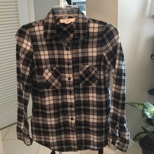 BCBGeneration Plaid Shirt